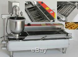 Electric donut making/frying machine, donut maker machine, 3 molds 110V/220V