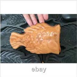 Fish type waffle machine, electric Japanses open mouth taiyaki making maker fryer