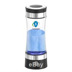 GOSOIT Hydrogen Alkaline Water Bottle Machine Maker with SPE and PEM Dupont Make