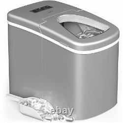 HOmeLabs Portable Ice Maker Machine for Counter Top Makes 26 lbs of Ice per myda