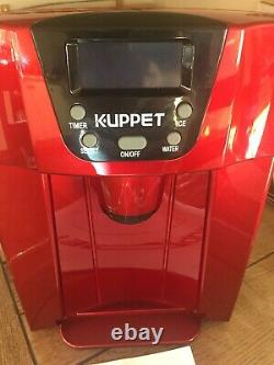 Ice Cube Maker And Water Dispenser Making Machine RED KUPPET HZB12E Countertop