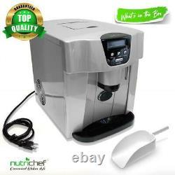 Ice Maker & Dispenser Kitchen Countertop Ice Cube Making Machine & Water Dispe