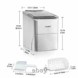 Ice Maker Machine Ice Maker Ice Cube Maker Ready in 6 Mins 2L Ice Making