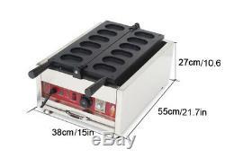 Intbuying Nonstick Electric Egg Cake Waffle Iron Making Machine Maker 110V 3KW