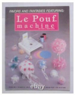 Le Pouf Favor Maker Machine for Making Custom Party Wedding Favors NEW