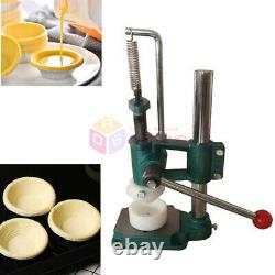 Manual Egg Tart Forming Processing Making Machine Egg Tarts Mould Maker