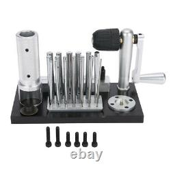 Manual Jump Maker Machine with 20 Mandrel Accessory Jewelry Making Tools