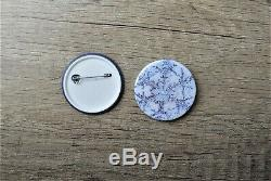 Micro Badge Maker Making Machine 100 Badges, circle cutter and 45mm die