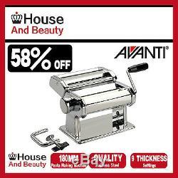 NEW AVANTI Stainless Steel 150mm Pasta Making Machine Maker