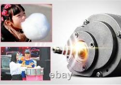 New Electric Commercial Candy Floss Making Machine Cotton Sugar Maker 220V
