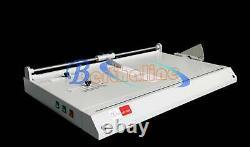 New Pro A3 Hard Cover Case Maker Desktop Hardback Hardbound Making Machine