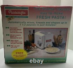 New in Box Pastarrific Fresh Pasta Machine Maker Automatic Make Cookies Too