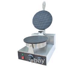 Non-stick Electric Crispy Ice Cream Cone Making Machine Waffle Cone Maker 220V