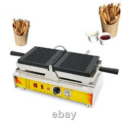 Non-stick Waffle Maker 13Pcs Biscuit Cookie Stick Making Machine Snack Baker