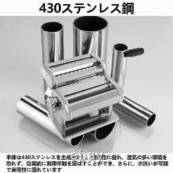 Pasta Machine Noodle Making Manual Maker Hand-Turned Different Gears Thickness