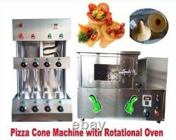 Pizza Cone Forming Making Commercial Maker Machine With Rotational Pizza Oven qe