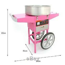 Popcorn Maker Retro Machine & Cotton Candy Floss Making Electric Machine Carts