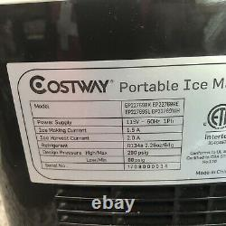 Portable Ice Maker Machine for Home Ice Cubes Ready in 8 Mins Make 26 lbs Ice