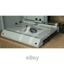 Pro A4 Size Hard Cover Case Maker Portable Hardback Hardbound Making Machine USA