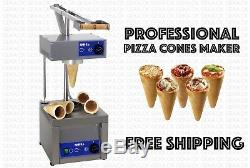 Professional Small Business Commercial Pizza Cone Forming Making Maker Machine