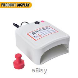 Rubber Stamp Making machine DIY Photopolymer Plate Exposure Unit Stamp Maker