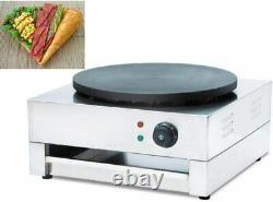 Single Crepe Maker and Pancake Machine Crepe Make Machine Electric Single Crepe
