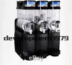TKX-03 110V Commercial Frozen Drink Slush Making Machine Smoothie Maker 3 Tank