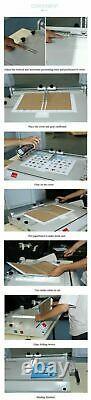 USA Pro A4 Size Hard Cover Case Maker Portable Hardback Hardbound Making Machine