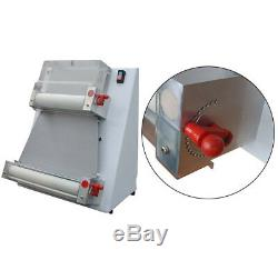 US 370W automatic 3 sizes pizza dough roller sheeter machine pizza making MAKER