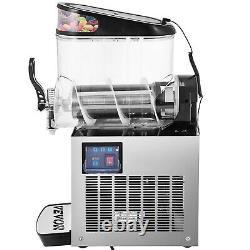 VEVOR 12L Commercial Frozen Drink Slush Making Machine Smoothie Ice Maker 3.2Gal