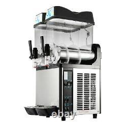 VEVOR 24L Commercial Frozen Drink Slushy Making Machine Smoothie Ice Maker 2x12L