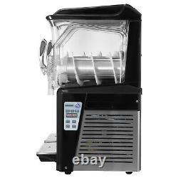 VEVOR Commercial 20L Slush Making Machine Frozen Drink Machine Ice Maker 2 Tanks