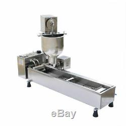 VI Commercial Donut Maker Doughnut Making Machine Stainless Steel Free Mold New
