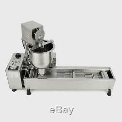 Wide Oil Commercial Automatic Donut Maker Making Machine with 3 Sets Free Mold