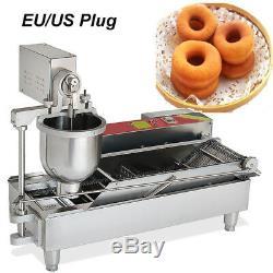110 / 220v Beignes Making Machine D'or Donuts Mini Donuts Plus Large Réservoir D'huile