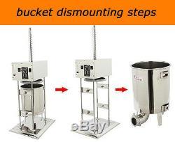 110v / 10l Saucisse Électrique Stuffer Viande De Remplissage Maker Faire Machine Commerciale