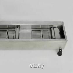 110v Commercial Donut Machine De Fabrication Large Réservoir D'huile Automatique Beignes 3 Tailles