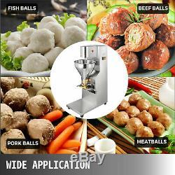 110v Commercial Meatball Machine Faire Porc / Boeuf / Poisson / Poulet Balls Maker