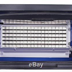 130kg Commercial Machine À Glaçons Ice Cube Machine De Fabrication 290lbs 24h Avec Contrôle LCD