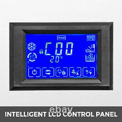 155lbs Commercial Ice Maker Ice Maker Ice Cube Making Machine 70kg LCD Control Panel 511