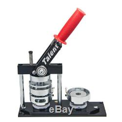 1 (25 Mm) Bouton Rond Manuel Maker Badge De Clichage Type Swing Machine Moule