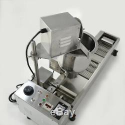 220 V Maker Machine De Fabrication Commerciale Automatique Donut Grand Réservoir D'huile With3 Moule Ensembles