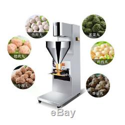 220v 1100w Commercial Automatique Meatball Machine De Fabrication De Poisson Boeuf Meatball Maker