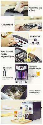 220v 150w Électrique Machine Automatique De Nouilles Faire Pâtes Nouilles Émincé Maker