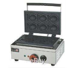 220v Électrique Taiyaki Maker Fryer Type De Poisson Waffle Machine De Fabrication Eb-q2