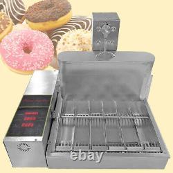 2600pcs/heure Commercial Mini 6 Lignes Donuts Making Machine Doughnut Maker