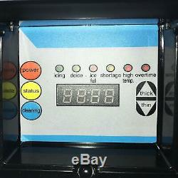 265lbs Ice Maker Ice Cube Making Machine Commercial Auto 120 KG 24h Microordinateur