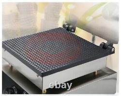 2.2kw Electrique Crème Glace Conique Fabricant De Gaufres Croustillant Faisant La Machine 220v