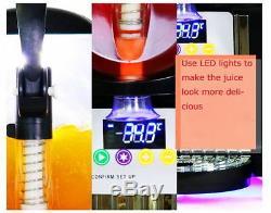 2 Boissons Réservoir Congelé Slush Slushy Machine De Fabrication De Jus De Smoothie Maker 22 L