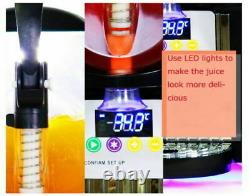 2 Réservoir Frozen Drink Slush Slushy Making Machine Juice Smoothie Maker 22 L